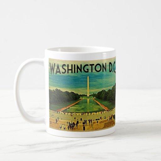 National Mall Washington D.C. Coffee Mug