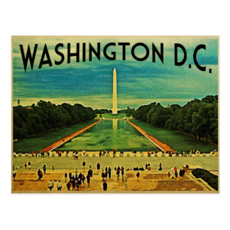 National Mall Washington D.C. Postcard