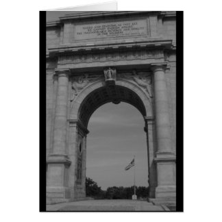 National Memorial Arch, Valley Forge Notecard Greeting Cards
