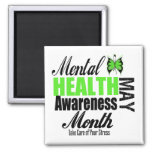 National Mental Health Awareness Month 2 Inch Square Magnet