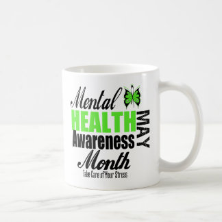 National Mental Health Awareness Month Classic White Coffee Mug