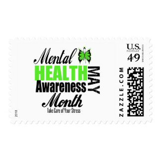 National Mental Health Awareness Month Stamps