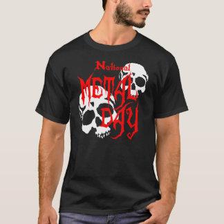 National Metal Day Skulls T-Shirt