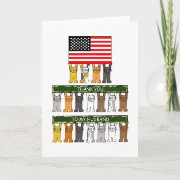 National Military Spouse Appreciation Day, Husband Card