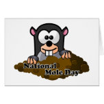 National Mole Day Greeting Card