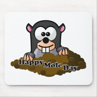 National Mole Day Mouse Pads
