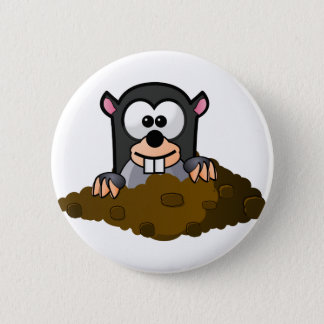 National Mole Day Pinback Button