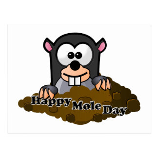 National Mole Day Postcard