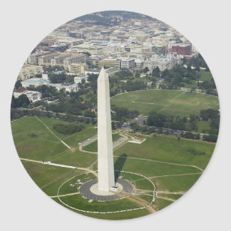 National Monument Classic Round Sticker