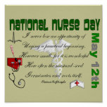 National Nurse Day Poster --
