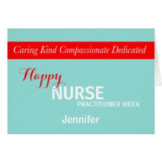 National Nurse Practitioner Week Card