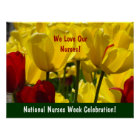 National Nurses Week Celebration! poster Tulips