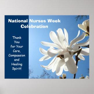 National Nurses Week Celebration posters Thank You
