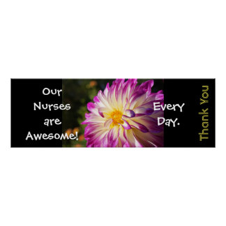 National Nurses Week posters Awesome Thanks