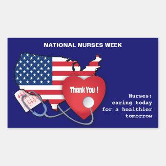 National Nurses Week Stickers