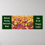 National Nursing Assistants Week poster Thank You