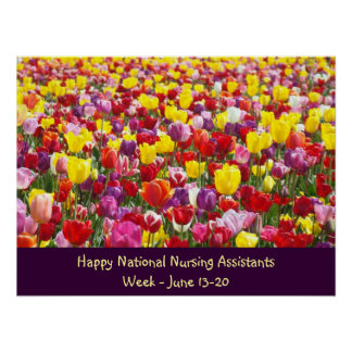 National Nursing Assistants Week posters Thank You