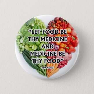 National nutrition month button