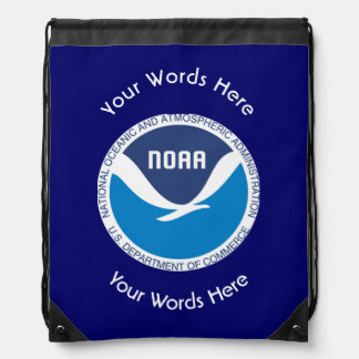 National Oceanic and Atmospheric Administration Drawstring Bag