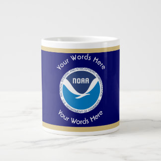 National Oceanic and Atmospheric Administration Large Coffee Mug
