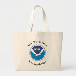 National Oceanic and Atmospheric Administration Large Tote Bag