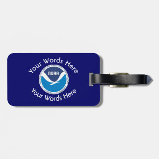 National Oceanic and Atmospheric Administration Luggage Tag