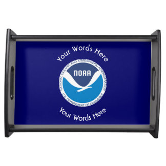 National Oceanic and Atmospheric Administration Serving Tray