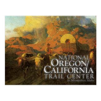 National Oregon/California Trail Center Postcard