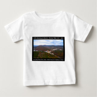 National Park Anniversary Hot Springs Autumn View Baby T-Shirt