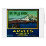 National Park Apple Crate LabelHood River, OR