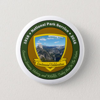 National Park Centennial Button Yosemite NP