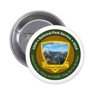 National Park Centennial Button Yosemite NP