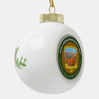 National Park Centennial Christmas Grand Canyon Ceramic Ball Christmas Ornament
