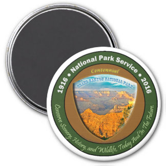 National Park Centennial Magnet Grand Canyon 3 In