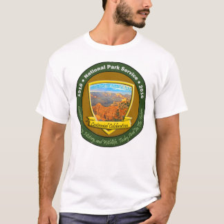 National Park Centennial Men's Basic T-Shirt White