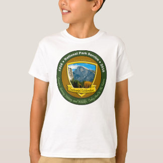 National Park Centennial Shirt Half Dome Kids
