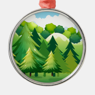 National Park Metal Ornament