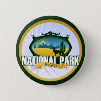 National Park Nerd - Desert Button