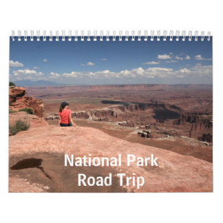 National Park Road Trip Calendar