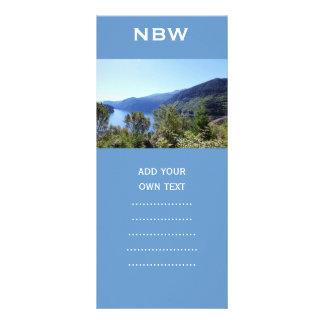 National Park, Seattle, U.S.A. Beautiful landscape Rack Card