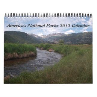 National Parks 2012 Calendar