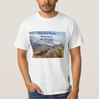 National Parks Belong to the People #DearCongress T-Shirt