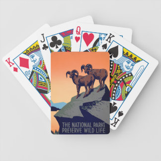 National Parks Bicycle Playing Cards