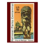 National Parks Centennial, City of Refuge, Hawaii Post Card