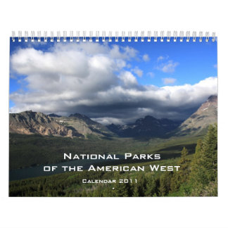 National Parks in the West - 2011 Calendar