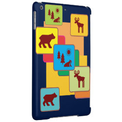 Case Savvy Glossy Finish iPad Air Case with Chow Chow Phone Cases design