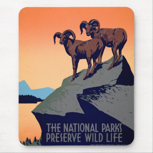 National Parks Mouse Pad