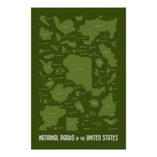 National Parks of the United States Posters