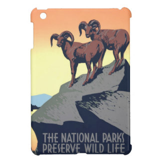 National Parks Poster 1939 iPad Mini Cover