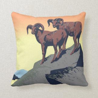 National Parks Poster 1939 Throw Pillow